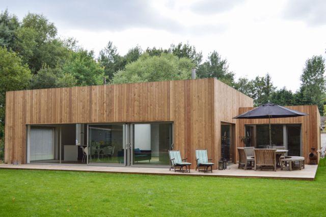 Дом из лиственницы