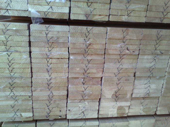 Купить фасадную доску планкен лиственницы